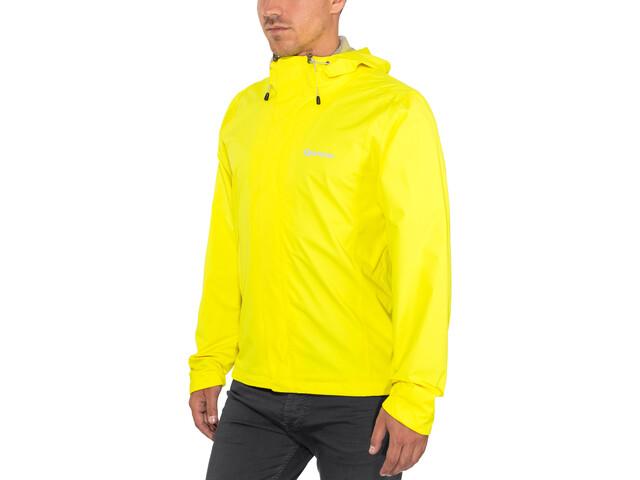 Gonso Save Light Rain Jacket Men, lemon